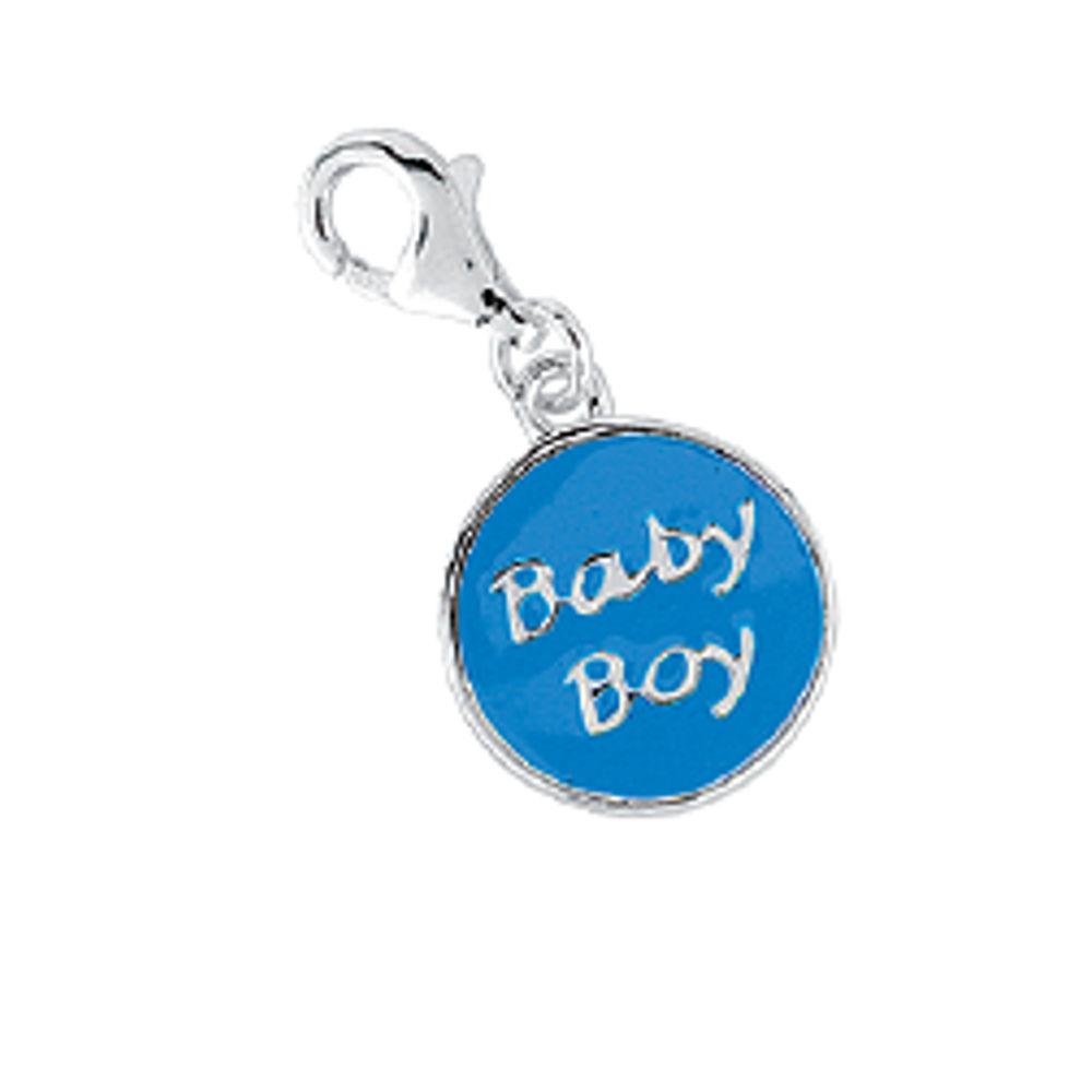 Argento 925 maskotti, Baby Boy