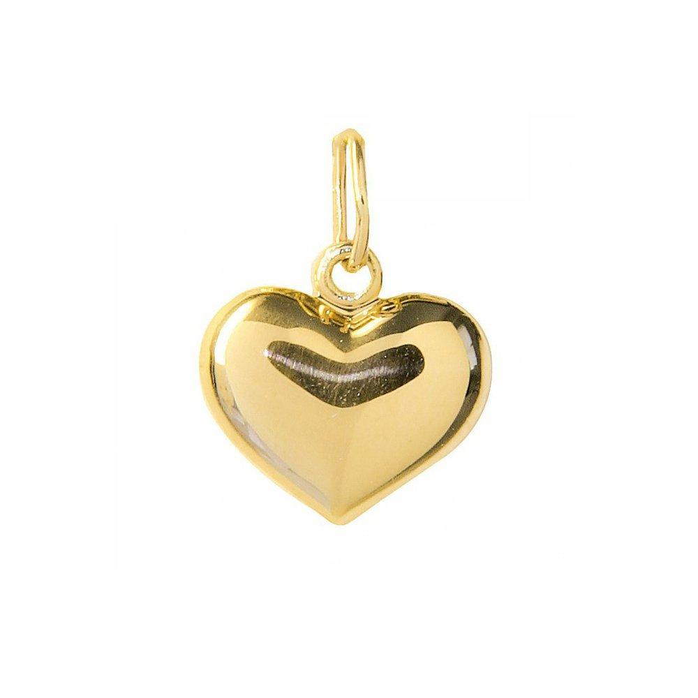 Kultainen sydänriipus 4,5 mm