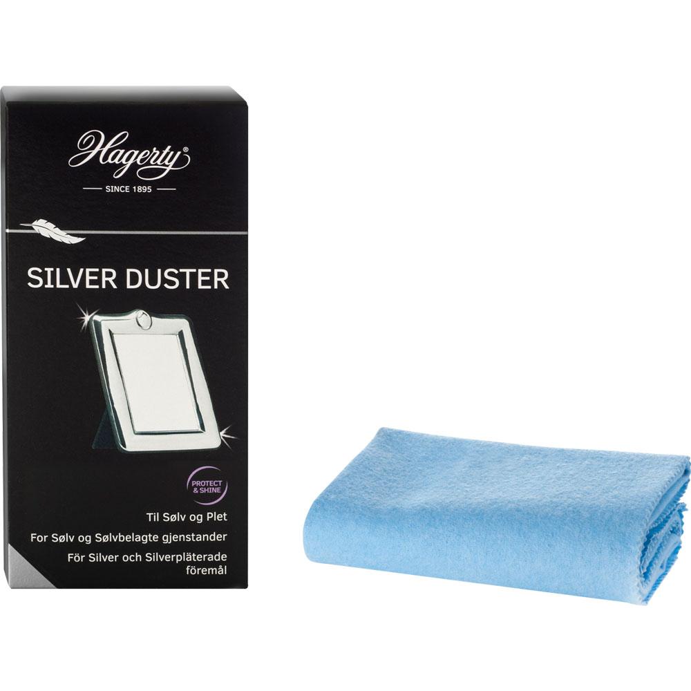 Hagerty Silver Duster -puhdistusliina