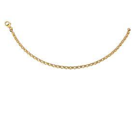 Kultainen papuranneketju 3,5 mm