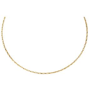 Kultainen kaulaketju, tuplalenkki 50 cm