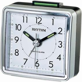 Rhythm hopeanvärinen herätyskello, kantikas