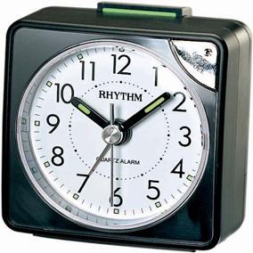 Rhythm musta herätyskello, torkkutoiminnolla