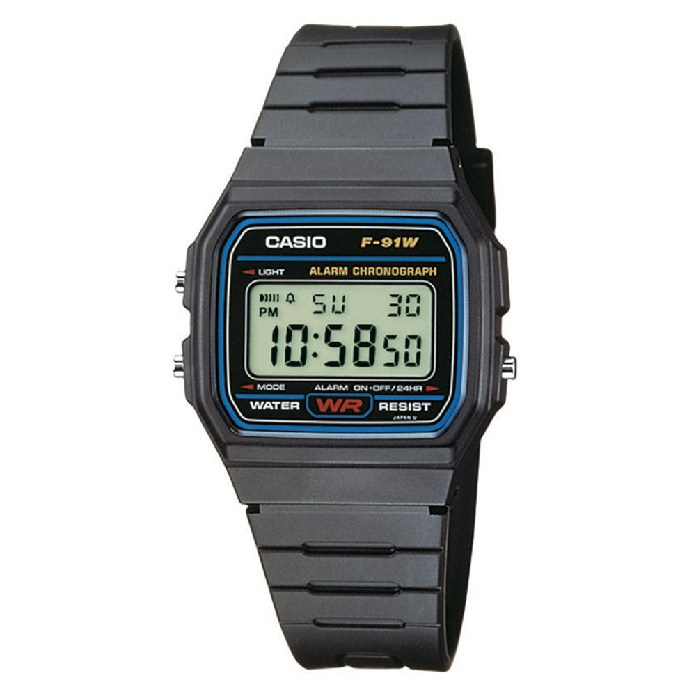 Casio Collection F-91W-1YEF  d65c37045a
