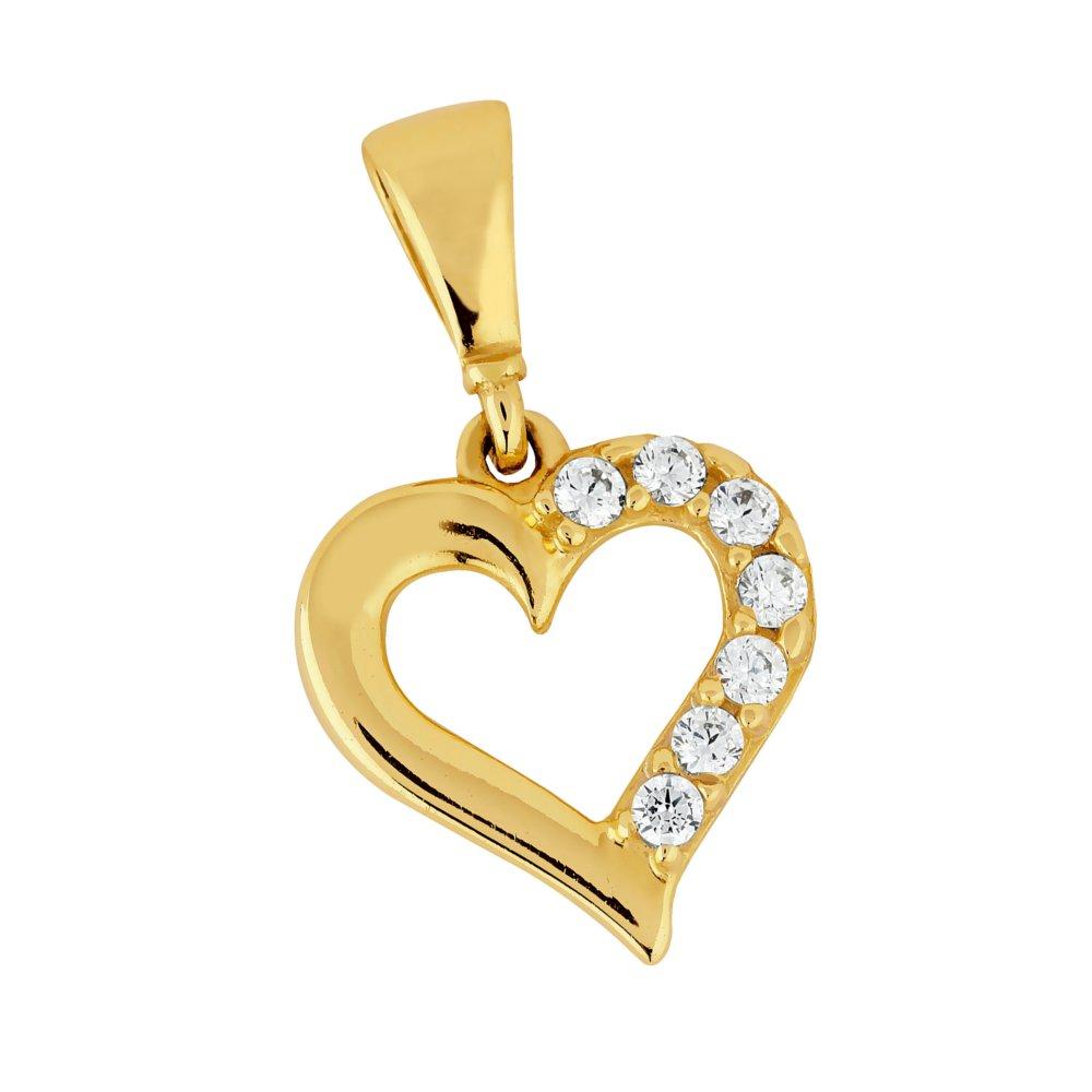 Kultainen sydänriipus  7a6924fdc0