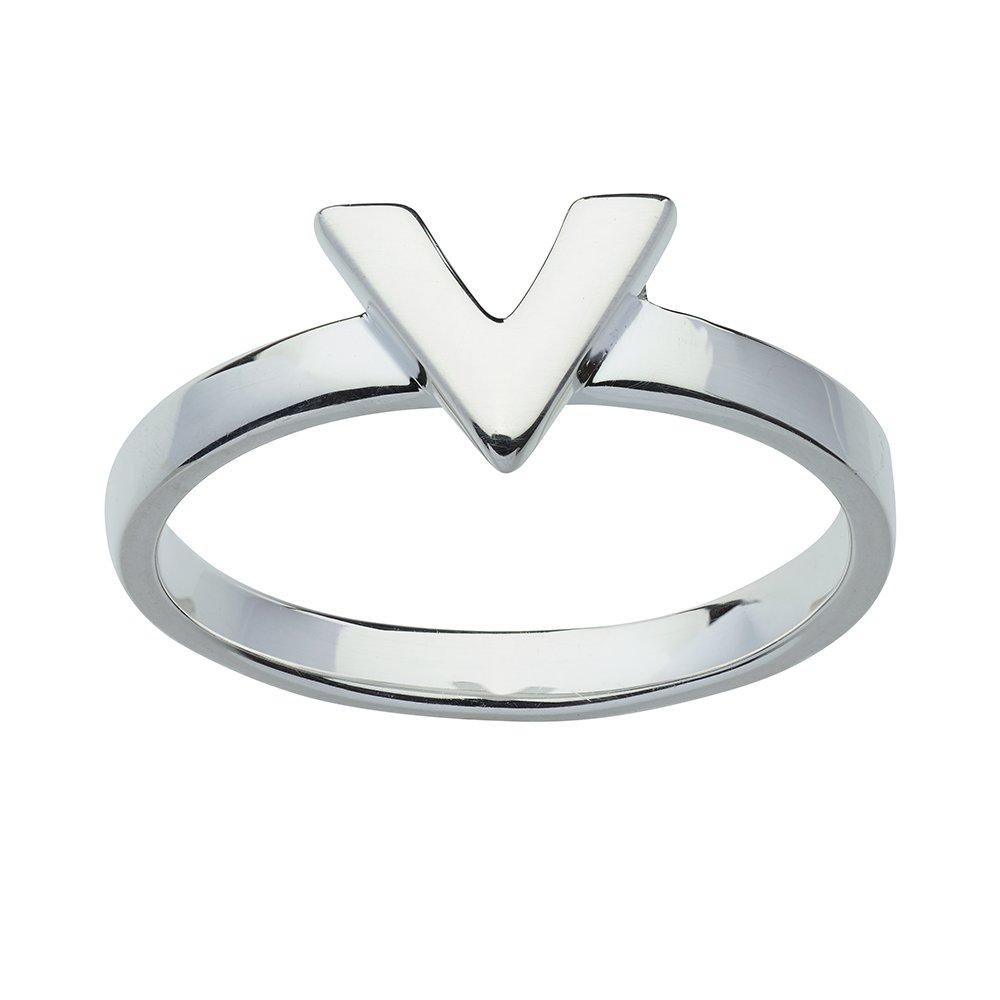 Naisten hopeinen sormus, V