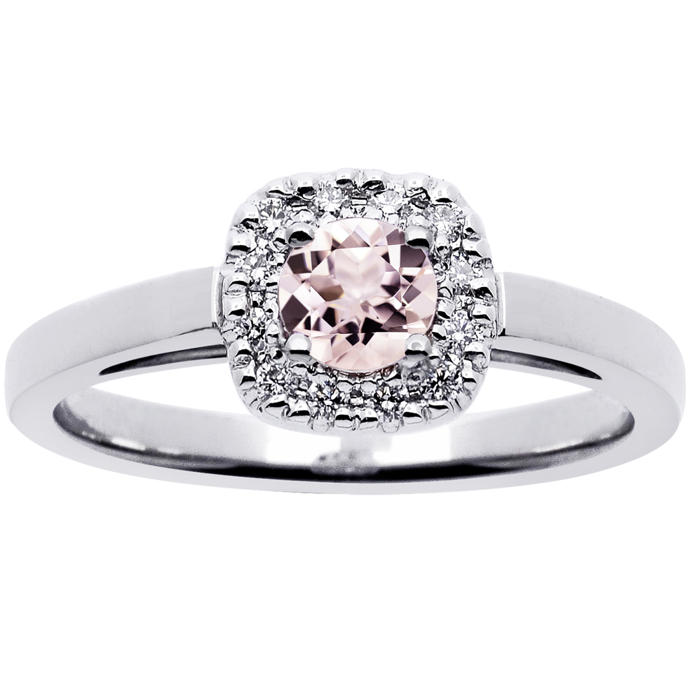 Princess timanttisormus 0,12ct 14K
