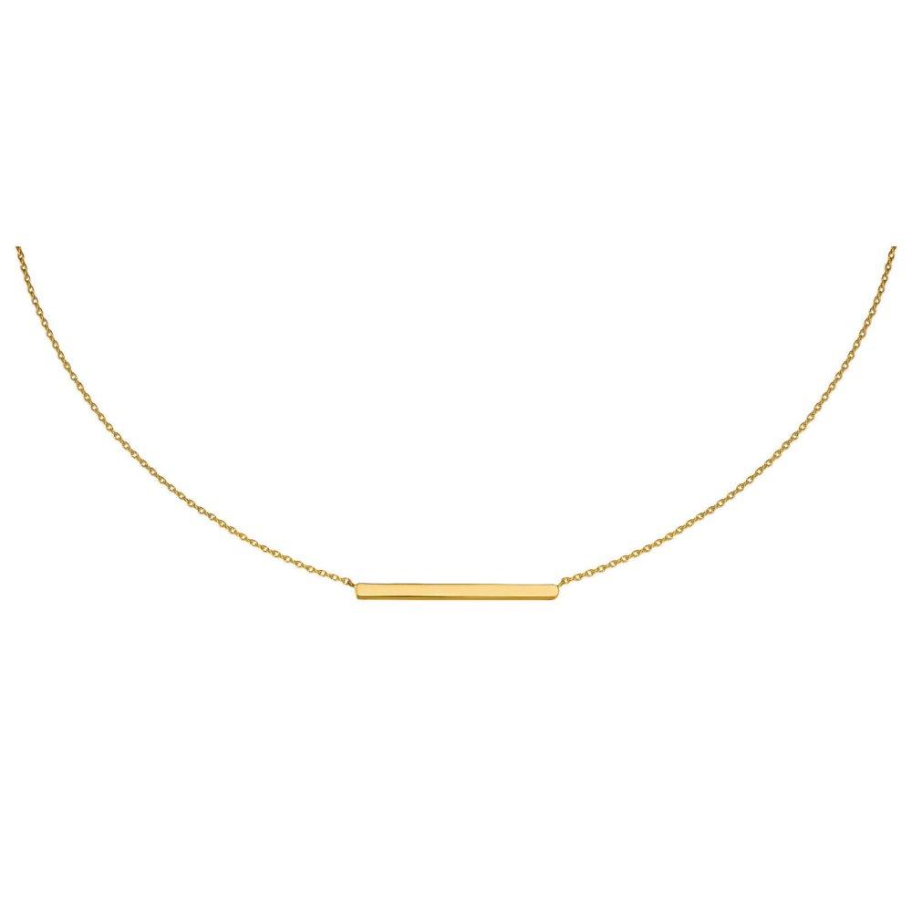 Kultainen kaulakoru, palkki keskellä