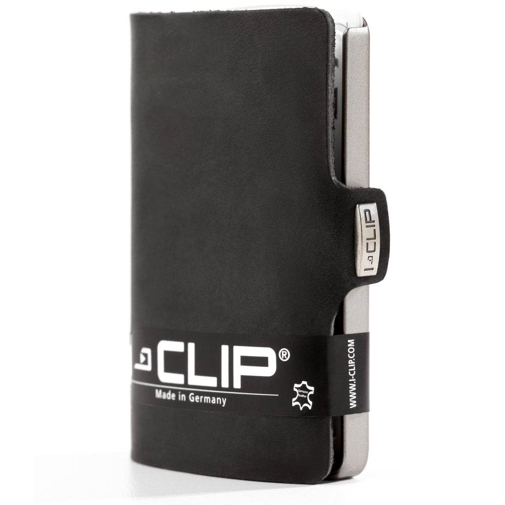 I-Clip korttikotelo Soft touch, Black