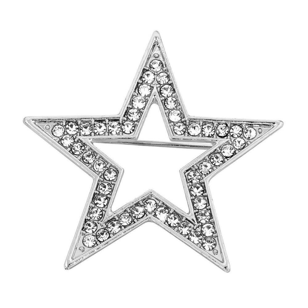 Tähtirintakoru, hopea