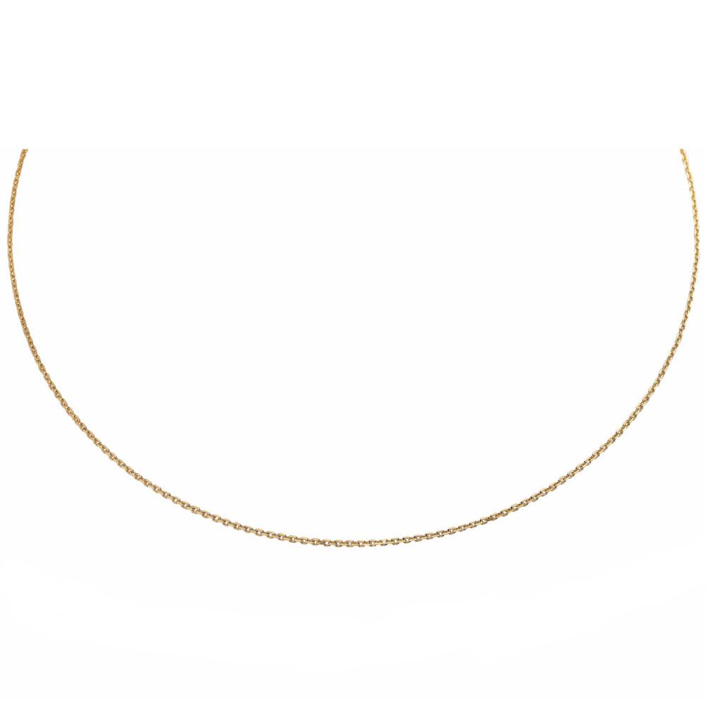 Kultainen kaulaketju 45 cm