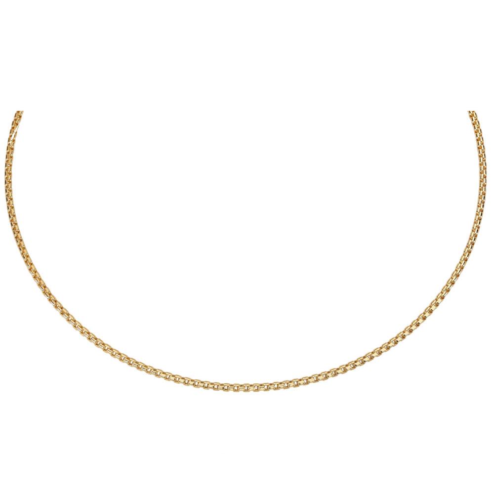 Kultainen kaulaketju 55 cm