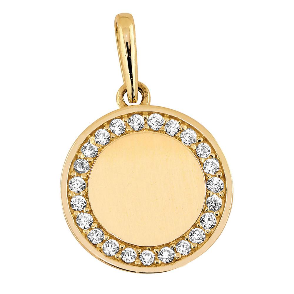 Kultainen pyöreä riipus c18afa582b