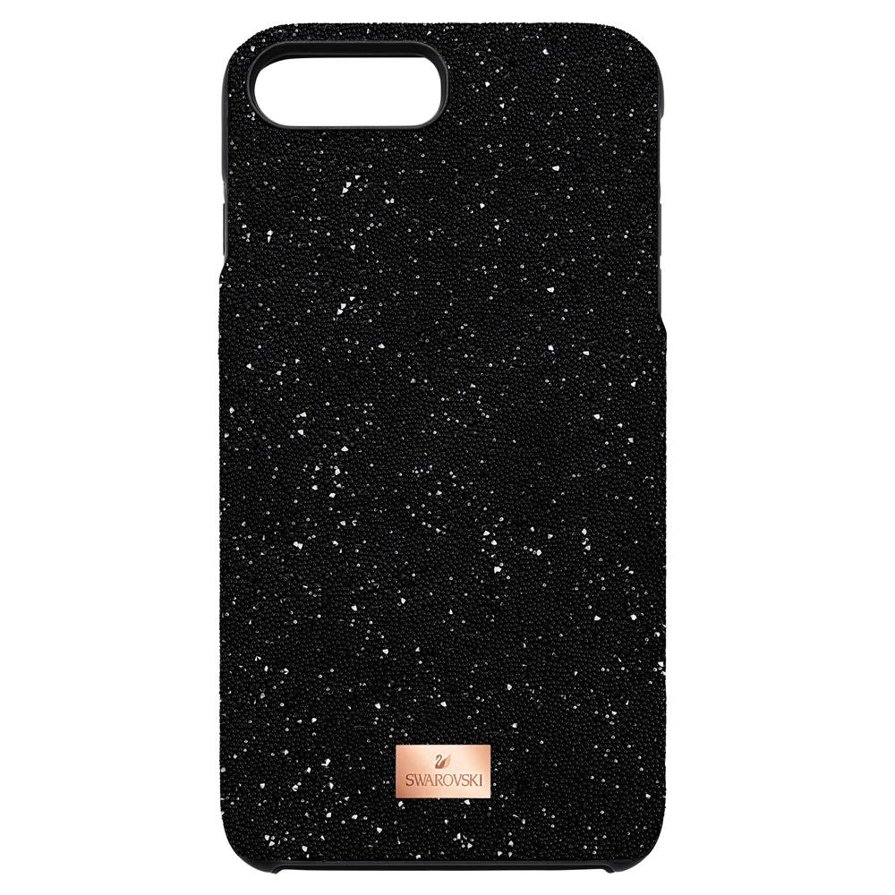 Swarovski High Smartphone Case with Bumper, iPhone X, Black 5392040