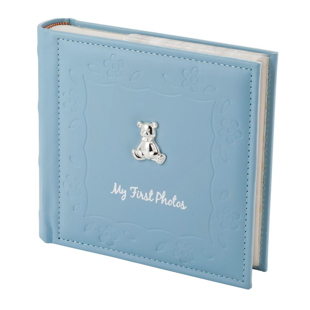 Vauvan valokuva-albumi, vaaleansininen