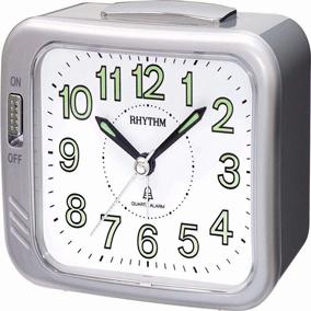 Rhythm hopeanvärinen herätyskello