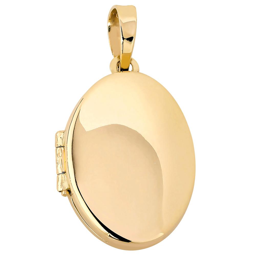 Kultainen avattava medaljonki