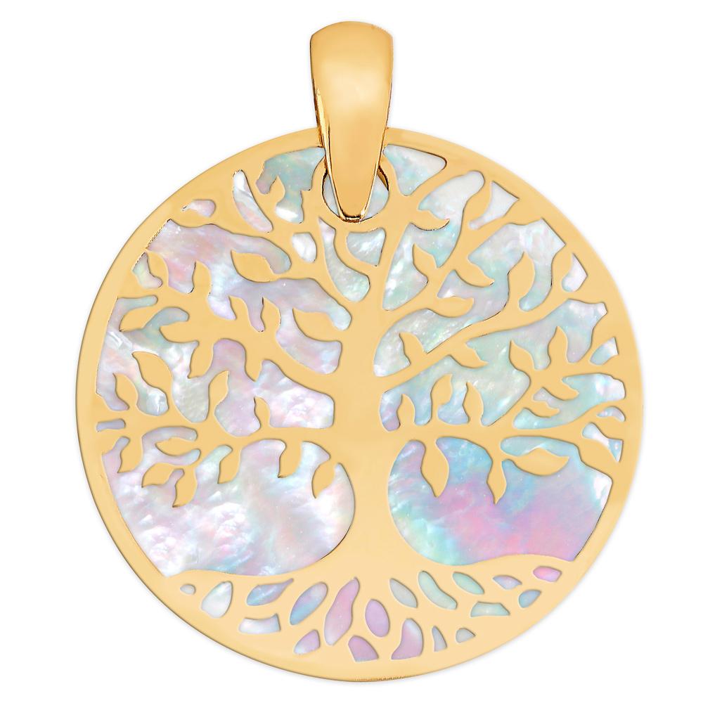 Kultainen riipus, Elämän puu, helmiäinen