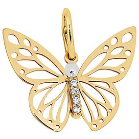Kultainen riipus, perhonen