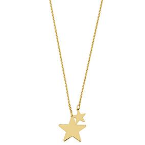 Kultainen kaulaketju, tähdet