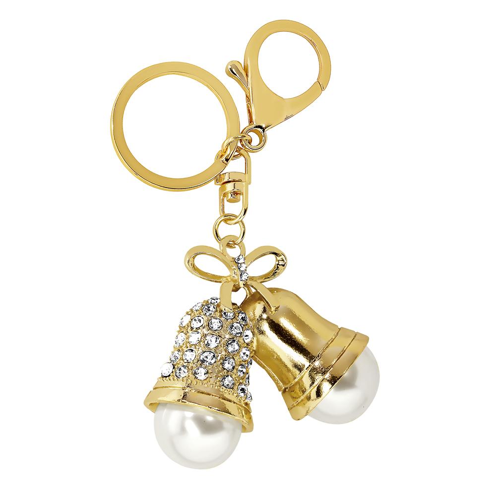 Kullanvärinen avaimenperä, joulukellot
