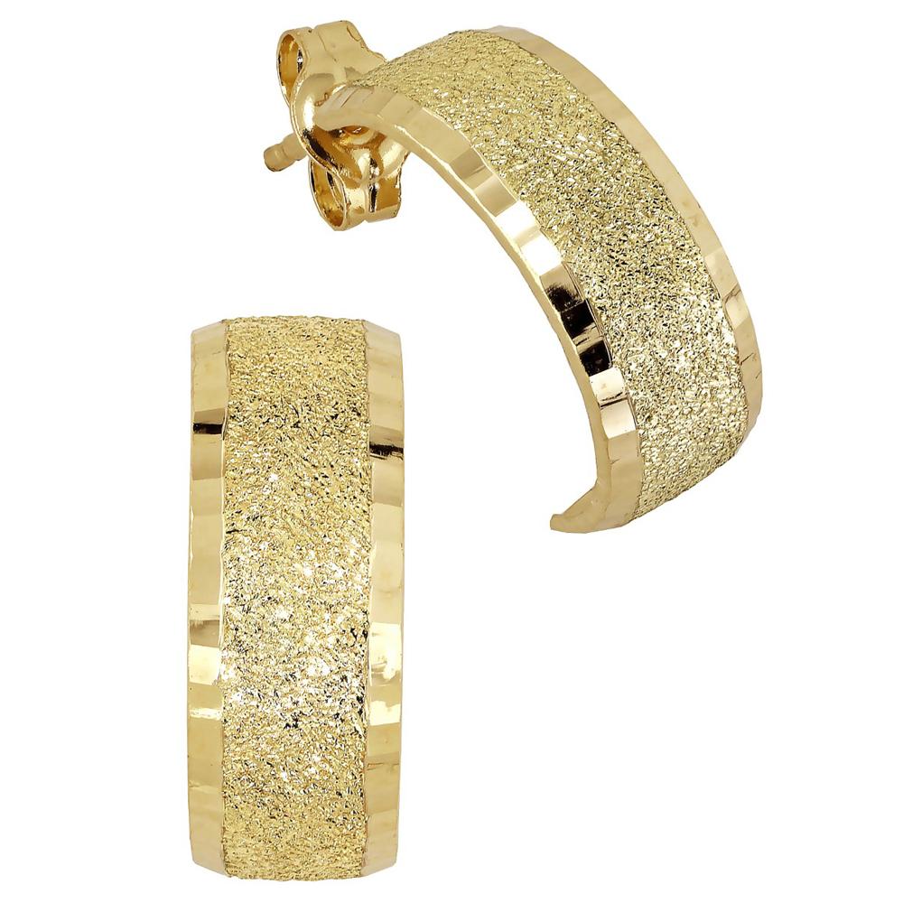 Kultaiset puolirenkaat, satiini 5 mm