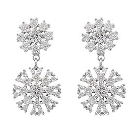 SNÖ of Sweden Crystal Vintage roikkuvat korvakorut 980-6200012