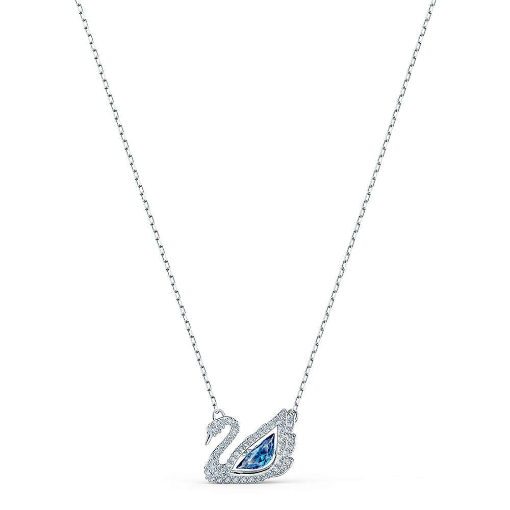 Swarovski Dancing Swan kaulakoru, sininen 5533397
