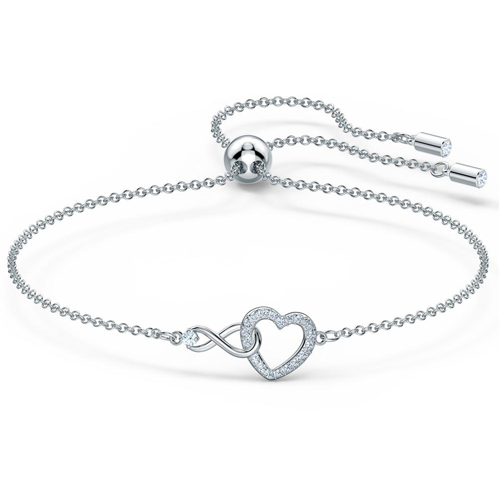 Swarovski Infinity Heart rannekoru 5524421