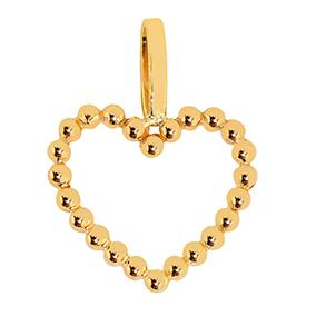 Kultainen sydänriipus, palloreuna
