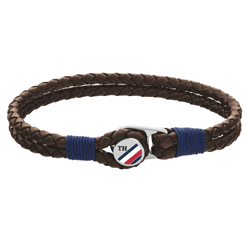 Tommy Hilfiger 2790196 rannekoru, Button Leather