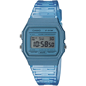 Casio Skeleton F-91WS-2EF