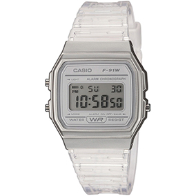 Casio Skeleton F-91WS-7EF