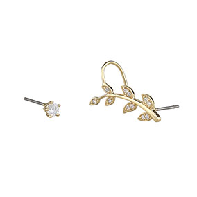 SNÖ of Sweden Minna Funky Branch Ear cuff korvakorut 1013-5902251