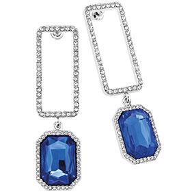 B.Bossy korvakorut, suorakaide ja sininen kivi