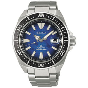 Seiko SRPE33K1 Prospex Save the Ocean Manta Ray King Samurai