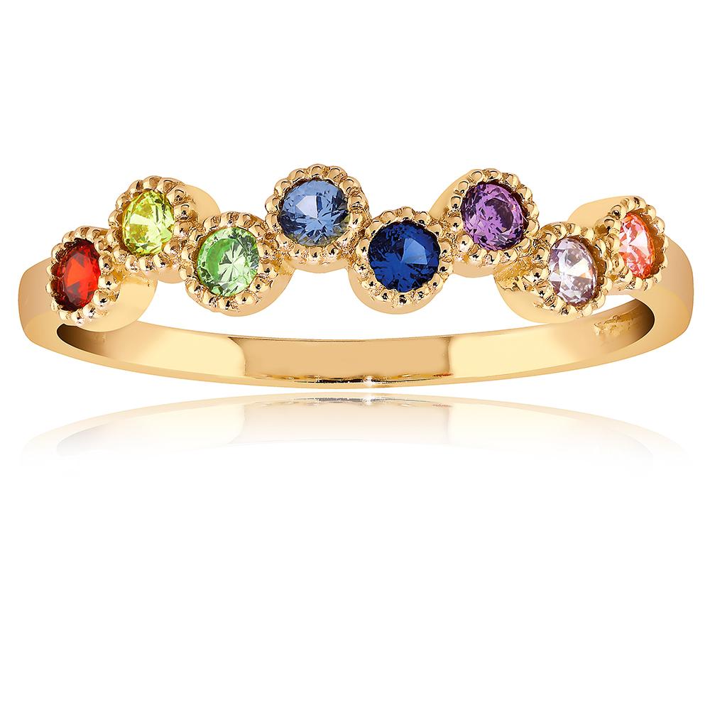 Kultainen sormus rainbow
