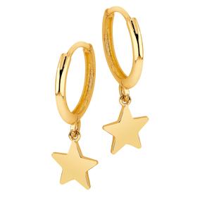 Kultaiset korvarenkaat, tähti