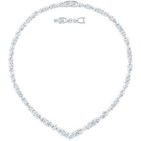 Swarovski Tennis deluxe kaulakoru, valkoinen 5556917