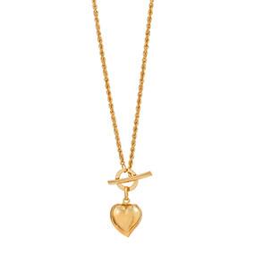 Kultainen kaulaketju, cordell, sydän