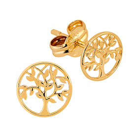 Kultaiset korvakorut, elämänpuu