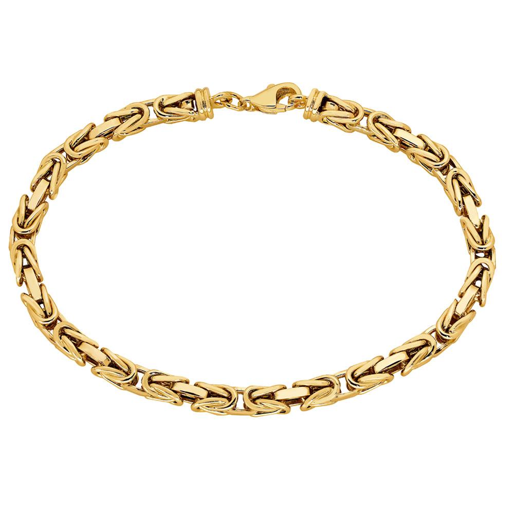 Kultainen ranneketju, kuningasketju 20cm