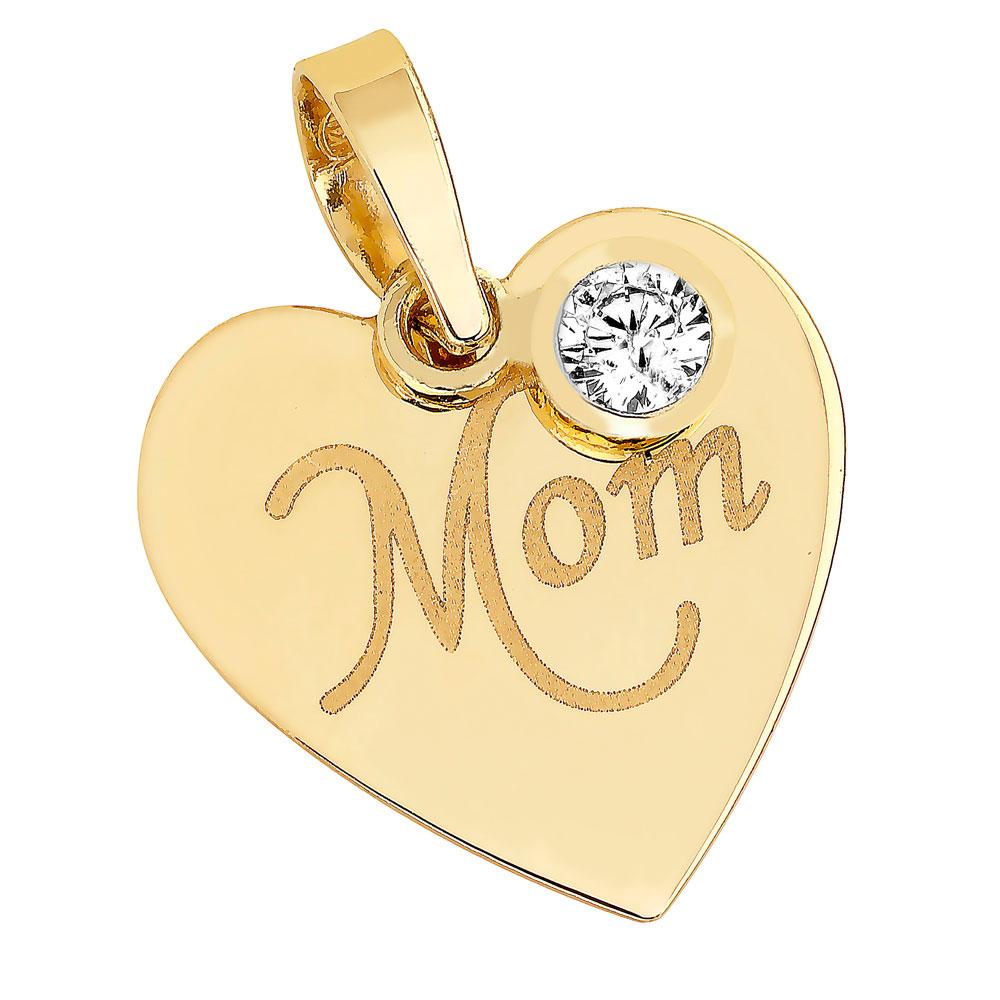 Kultainen riipus, Mom, heiluva zirkonia