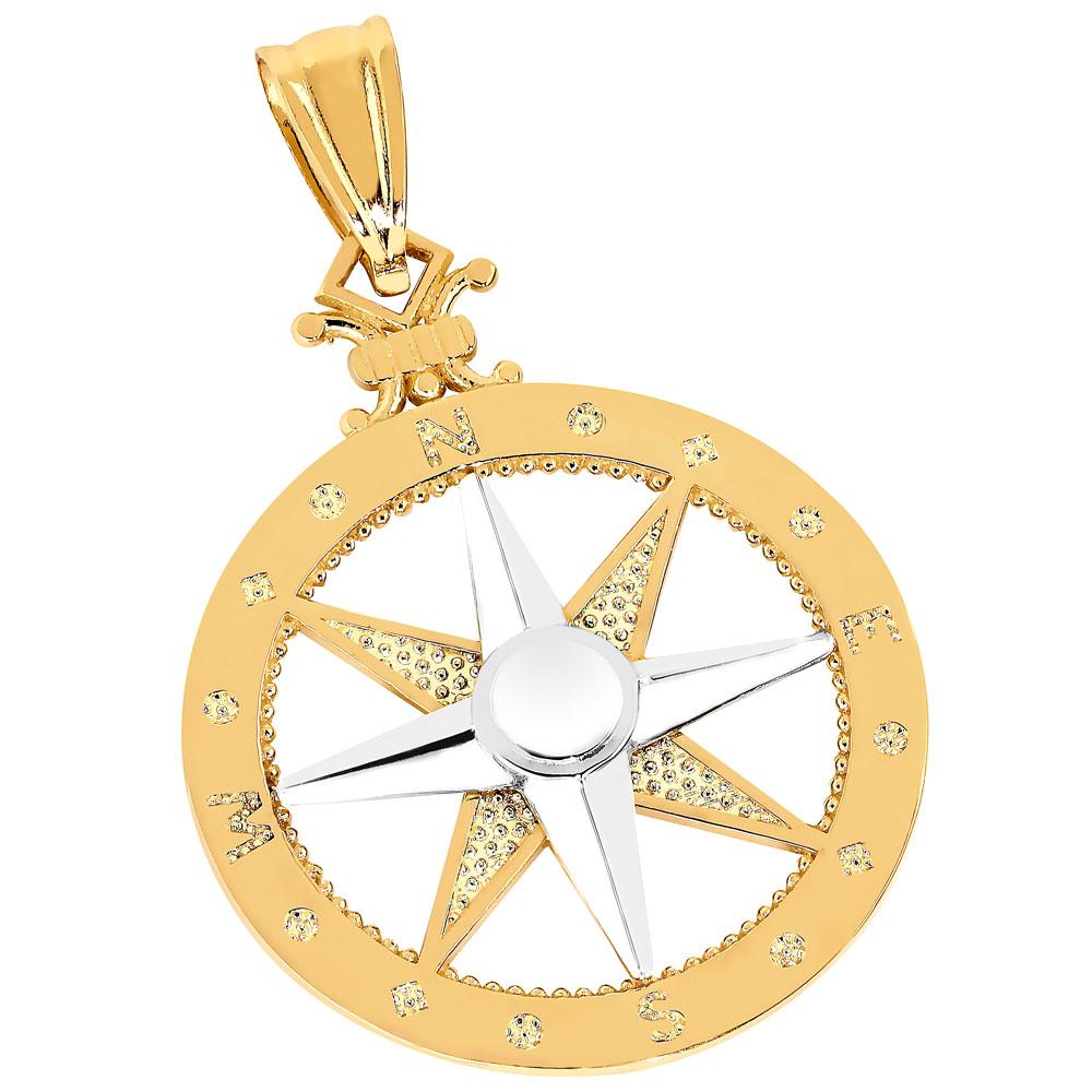 Kultainen riipus, kompassi