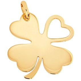 Kultainen riipus, neliapila, sydän aukko