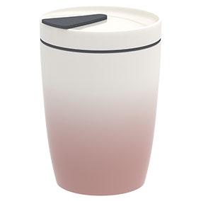 Villeroy & Boch Coffee to Go muki, vaaleanpunainen