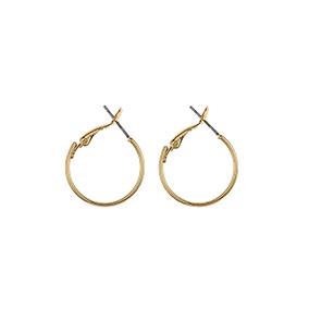 SNÖ of Sweden Mystic Small Ring Gold korvakorut