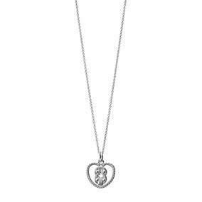 Kalevala Teljänneito Amuletti-riipus, hopea